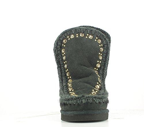 Damen Schwarz amp; Stiefeletten Stiefel Mou UnWdqpU