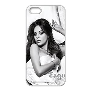 iPhone 5 5s Cell Phone Case White ha99 mila kunis esquire sexy woman face JNR2084572