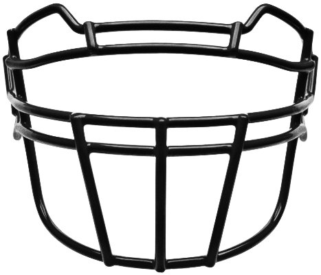 Schutt Sports Youth VROPO DW TRAD YF Carbon Steel Vengeance Football Faceguard, Black