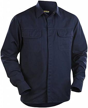 Camisa Flanelle Blaklader ignífugo: Amazon.es: Bricolaje y ...