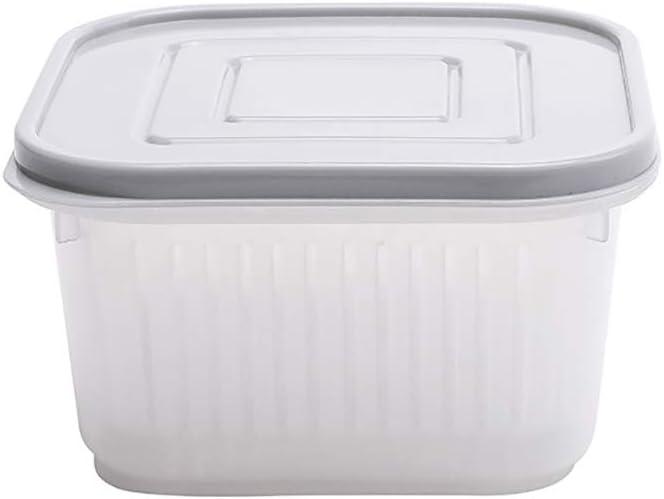 New Fresh Storage Box Onion Food Crisper Vegetable Fruit Saver Container