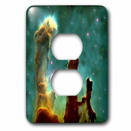 3dRose lsp/_204811/_6 Print of Eagle Nebula In Outer Space 2 Plug Outlet Cover