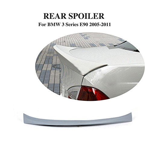 jcsportline Unpainted PU Rear Trunk Spoiler Wing for BMW 3 Series E90 M3 2005-2011