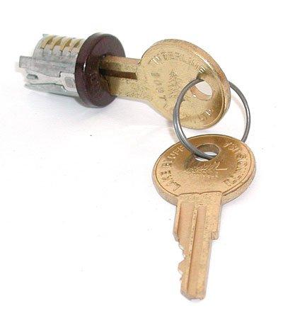 Timberline Lock Plug Stat Bronze Keyed Alike key number 108