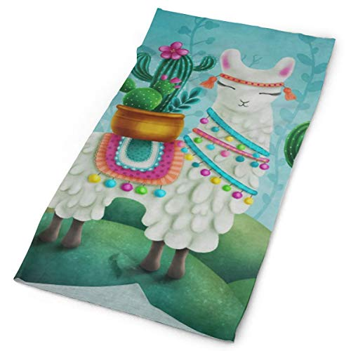 Animal Llama Succulent Cactus Headband Womens Bandana for sale  Delivered anywhere in USA