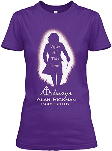 [After all this time - Always printing T-Shirt Ladies (L,Purple)] (Dobby Harry Potter Costumes)
