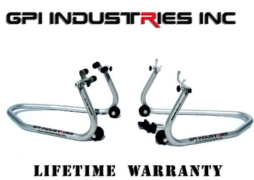 GP Pro Series - Universal Front and Rear Motorcycle Sportbike Paddock Race Stands Lifts For Kawasaki Suzuki Honda Yamaha BMW Ducati Triumph Sport and Sport Touring Bikes - By GPI Industries by GPI Industries (Image #9)
