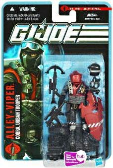 G.I. Joe Pursuit of Cobra Alley Viper Urban Trooper 3 3/4 Inch Action Figure ()