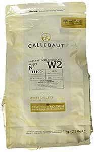 Callebaut White Chocolate Easimelt Finest Belgian Chocolate Melting Callets 1Kg