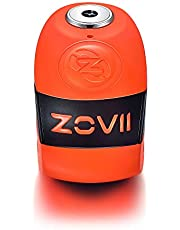 ZOVII (ZD10) Disc Lock with Alarm (Orange)