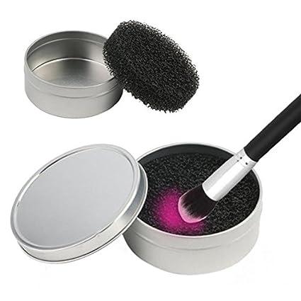 Esponja Limpiadora para Brochas de Maquillaje