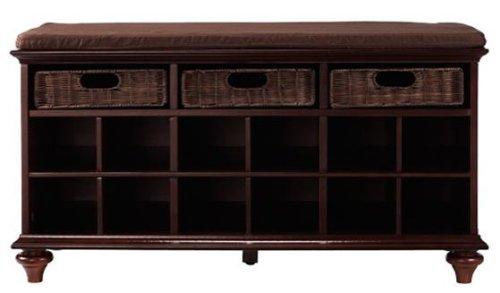 Home decorators collection redmond shoe bench 21h x 38w x for Amazon home decorators collection