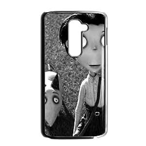Frankenweenie LG G2 Cell Phone Case Black CVXEYERTE08557 Custom Plastic Phone Case