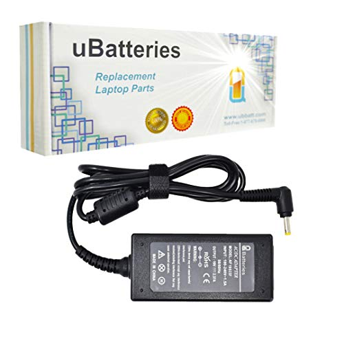 UBatteries Compatible 19V 2.37A 45W AC Adapter Replacement for Toshiba Tablet Thrive AT100 AT105 / Toshiba ChromeBook CB30 CB30-A CB35 CB35-A CB35-B CB35-C LAC-TO22 Series (Toshiba Thrive 10 Tablet)