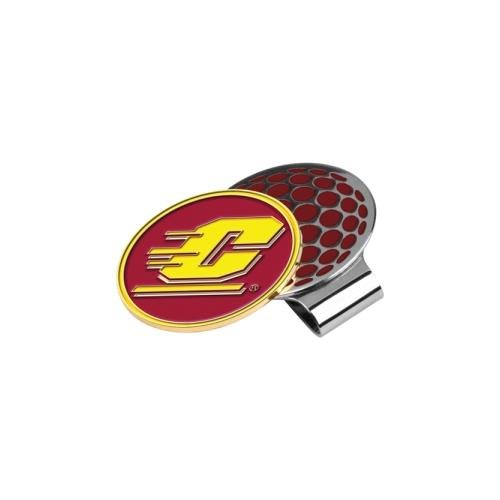 NCAA Central Michigan Chippewas Golf Hat Clip with Ball Marker (Gear Central Michigan)