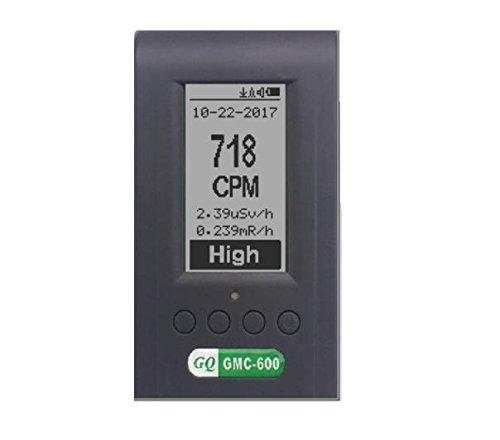 GQ Gmc-600/Plus d/étecteur de compteur Geiger Dosim/ètre Alpha Beta Gamma Xray Lnd 7317