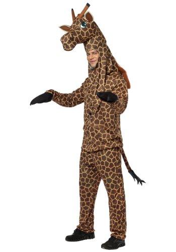 Rasta Imposta Giraffe Costume, Brown/Yellow, One Size