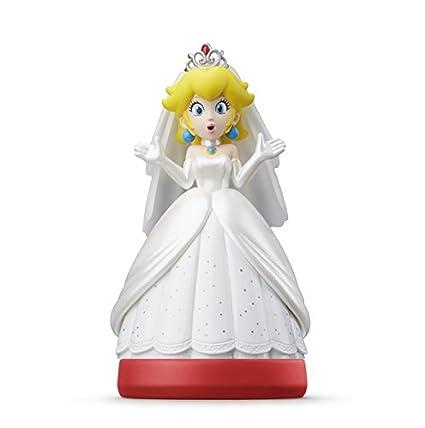 Amazon.com: Amiibo   Peach (Super Mario Odyssey): Nintendo Switch