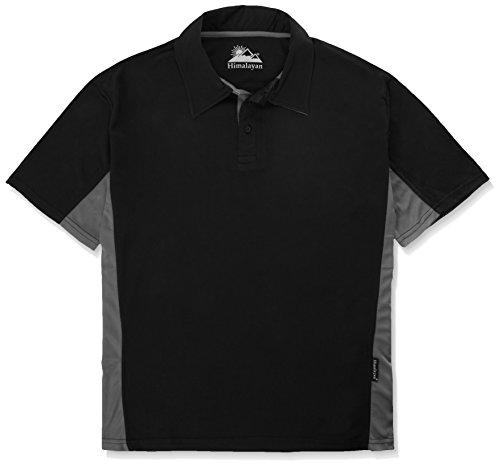 Himalaya-h800bgxxxl 3X-L Kult Shirt Polo schwarz/grau