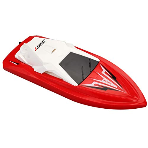 (Sunlake toys JJ/RC 1:47 2.4GHz Remote Control Durable Racing Waterproof Smart Boat Toy Gift-Rechargeable 2.4Ghz 3D Deformation Racing)