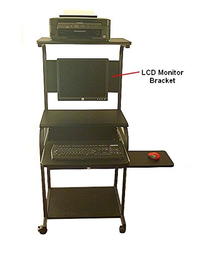 CUZZI STS5801E_LCD Computer Desk with Monitor Mount by CUZZI Soho Furniture