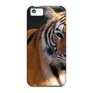 Hot Style BCC1834IpPI Protective Case Cover For Iphone5c(tiger) by icecream design