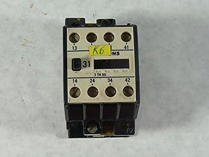 siemens 3th8016 0a control relay 600v 16a amazon com industrial rh amazon com