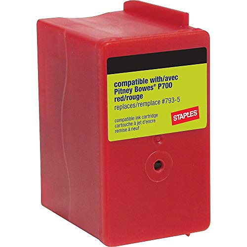Staples 756928 P700 Postage Meter Ink Cartridge for Dm100I and Dm200L Series ()