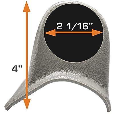 "GlowShift Universal Gray Triple Pillar Gauge Pod - Fits Any Make/Model - ABS Plastic - Mounts (3) 2-1/16"" (52mm) Gauges to Vehicle's A-Pillar: Automotive"
