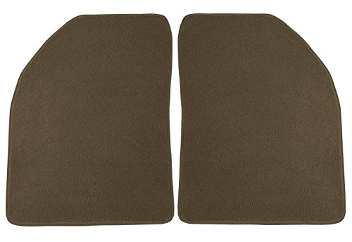 - Coverking Front Custom Fit Floor Mats for Select Oldsmobile Delta 88 Models - 40 Oz Carpet (Oak)