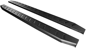 Mifeier 4 Side Step Rail Nerf Bar Running Boards For 15-16 Ford F150 Extended//Super Cab With 2 Half Size Rear Doors