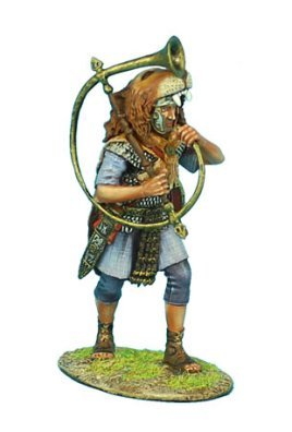First Legion ROM097 Imperial Roman Praetorian Guard Cornicen