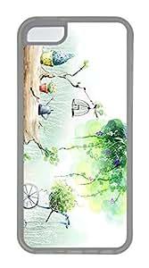 iPhone 5c Case Unique Cool iPhone 5c pc Transparent Cases 2D Digital Art 31 Design Your Own iPhone 5c Case