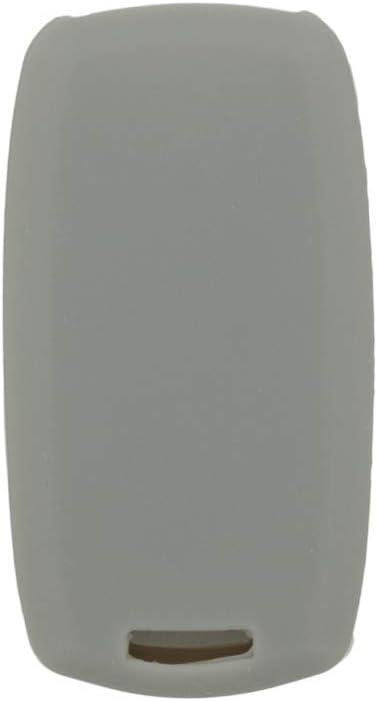 SEGADEN Silicone Cover Protector Case Holder Skin Jacket Compatible with SUZUKI 2 Button Smart Remote Key Fob CV4544 Light Blue