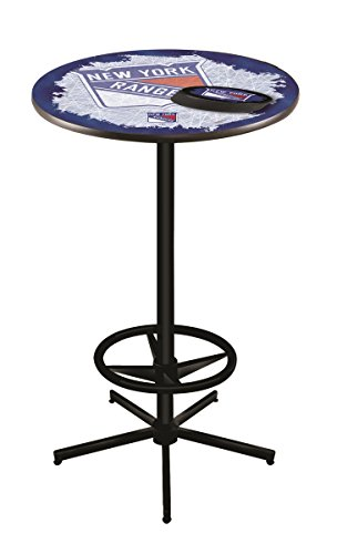 Holland Bar Stool Co. NHL New York Rangers Officially Licensed Pub Table, 36