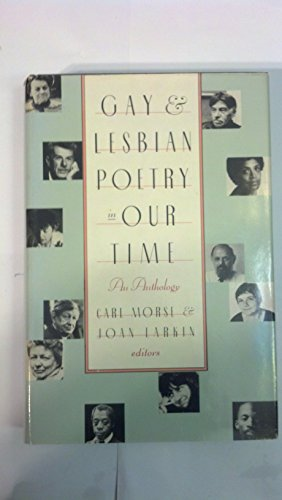 Gay and Lesbian Poetry in Our Time: An Anthology