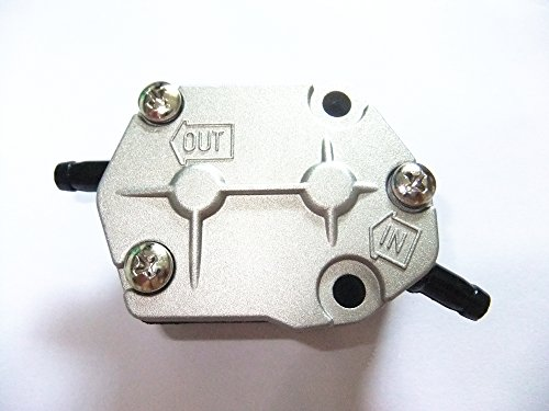 SouthMarine Boat Engine Fuel Pump Assy 6A0-24410-00 663-24410-00 692-24410-00 for Yamaha 2-Stroke 25HP 30HP 40HP 50HP 55HP 60HP 75HP 90HP Outboard Motor - Outboard Fuel Pump