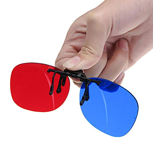 Fashion Universal Blue And Red 3D Glasses Plastic