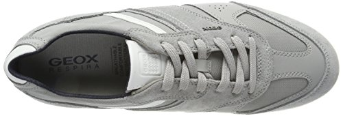 Basses A Renan Gris U Geox Grey lt stone Sneakers Homme wPIcT77pq
