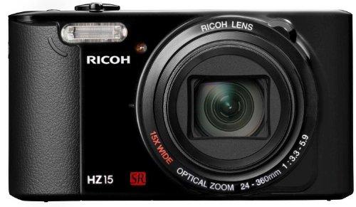 Pentax HZ15 Digitalkamera (16 Megapixel, 15-fach opt. Zoom, 7,6 cm (3 Zoll) LCD-Display, HD)