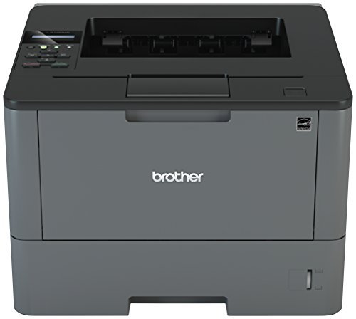 (Brother Monochrome Laser Printer, HL-L5100DN, Duplex Two-Sided Printing, Ethernet Network Interface, Mobile Printing, Amazon Dash Replenishment Enabled )