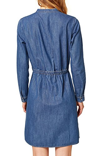 by Kleid Blue Wash 902 Blau Medium ESPRIT edc Damen 6qxd6t
