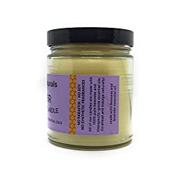 Lavender Scented All Natural 100% Pure Beeswax Can