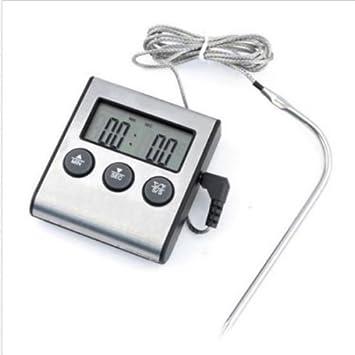 Fleischthermometer Backofen BBQ Grill Braten Thermometer Küche Werkzeug  Neu