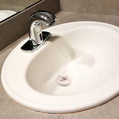 Manda Stell 4 St/ück Gummi-Waschbeckenst/öpsel 4 Gr/ö/ßen Abflussstopfen Stopper mit Aufh/ängering f/ür Badewanne
