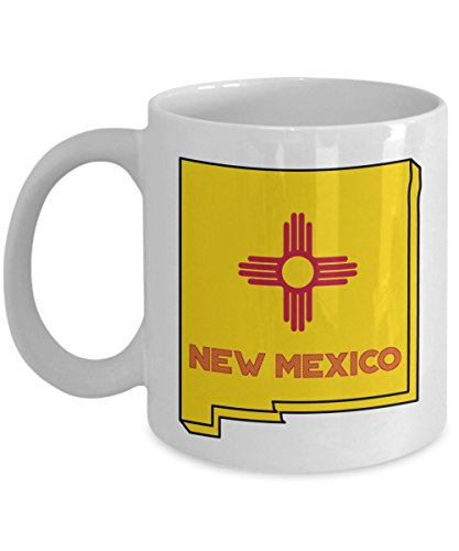 New Mexico Travel Mug - Funny Tea Hot Cocoa Coffee Cup - Novelty Birthday Christmas Anniversary Gag Gifts -