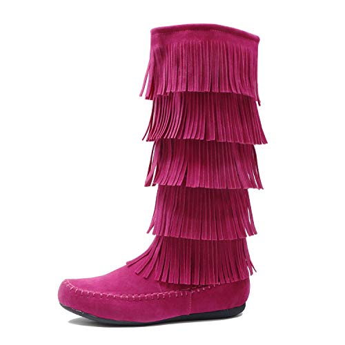 West Blvd - Salvador Fuchsia Suede, 11