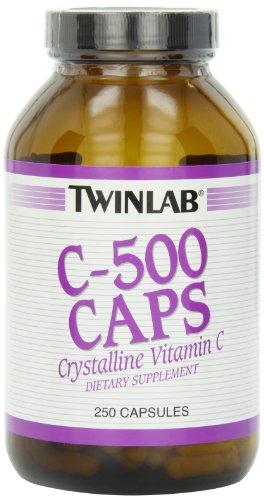 Twinlab C-500 Caps, 500mg, 250 Capsules