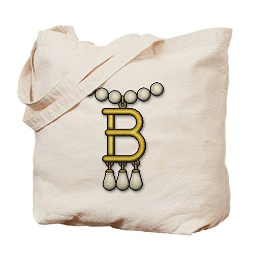 CafePress–B collar–Gamuza de bolsa de lona bolsa, bolsa de la compra Small caqui