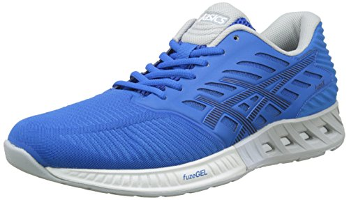 Asics Directoire Mid T639N Men's Running Blue Shoes FuzeX Blue Grey Peacoat r7gxnrqH
